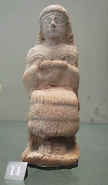 Figurines-plaquettes ou Teraphim,   dieux domestiques Louvre